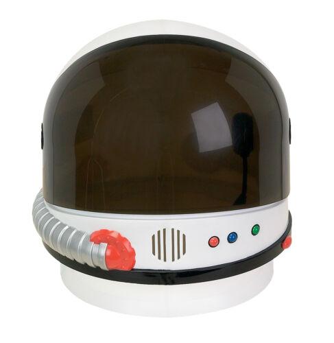 Blanco Astronauta Traje Nasa Espacio Casco Disfraz Nuevo AR26