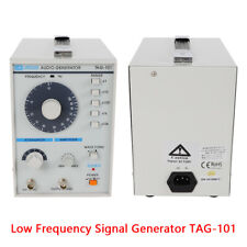 Low Frequency Signal Generator Audio Tag 101 Sinesquare Waves 10hz 1mhz 110v