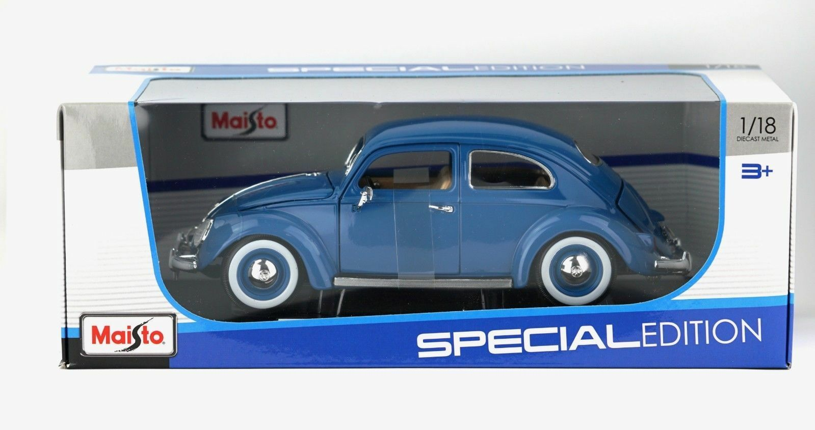 1955 Volkswagen Kafer-Beetle 1 18 Model Car Maisto Special Edition - New in Box