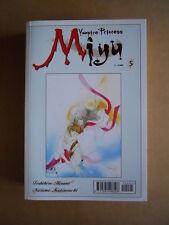 VAMPIRE PRINCESS MIYU n°5 edizione Play Press Manga  [G371D]