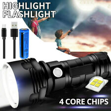 Brightest Xhp90 Usb Rechargeable 900000lm Led Flashlight Torch Lamp Work Light