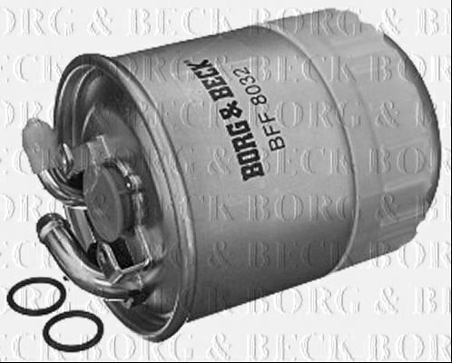 BORG /& BECK FUEL FILTER FOR JEEP GRAND CHEROKEE DIESEL 3.0 160KW