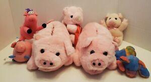 Lot-of-Pigs-Slippers-Plush-Stuffed-Animals