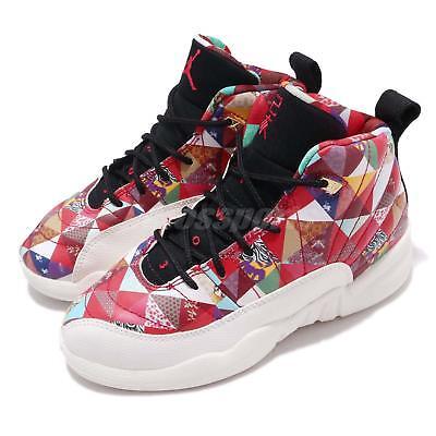 Nike Jordan 12 Retro CNY PS XII Chinese New Year Preschool Kids Shoes BQ6498 -600 ba40f3ec9