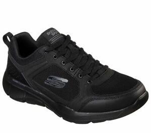 Skechers-Sport-Men-039-s-Shoes-Black-Memory-Foam-Comfort-Casual-Train-Athletic-52940