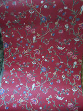 Bird Rose French Cottage Wallpaper Ha1326 Double Roll