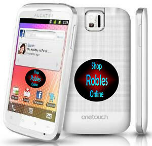 alcatel one touch 991d weiss dual sim ohne simlock. Black Bedroom Furniture Sets. Home Design Ideas