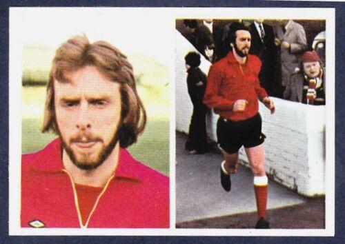 FKS 1976//77 SOCCER STARS #310-SUNDERLAND-ROY GREENWOOD