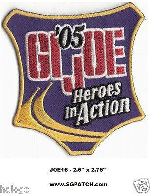 GI JOE 2005 CONVENTION PATCH - JOE16
