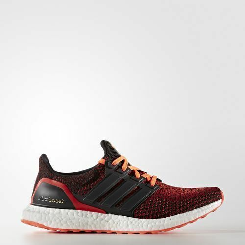Price reduction AQ5930 Ultra Boost 2.0 Men Running Shoes Solar Red Black