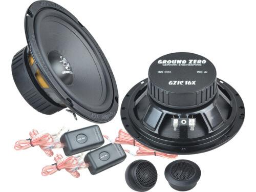 GZ iridium altavoces componentes 300 vatios bmw 3er e46 Compact 06//2001-12//2004