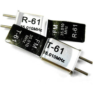 RC-Helicopter-Crystal-RX-amp-TX-35-MHZ-35-010-FM-35MHZ-Single-Conversion
