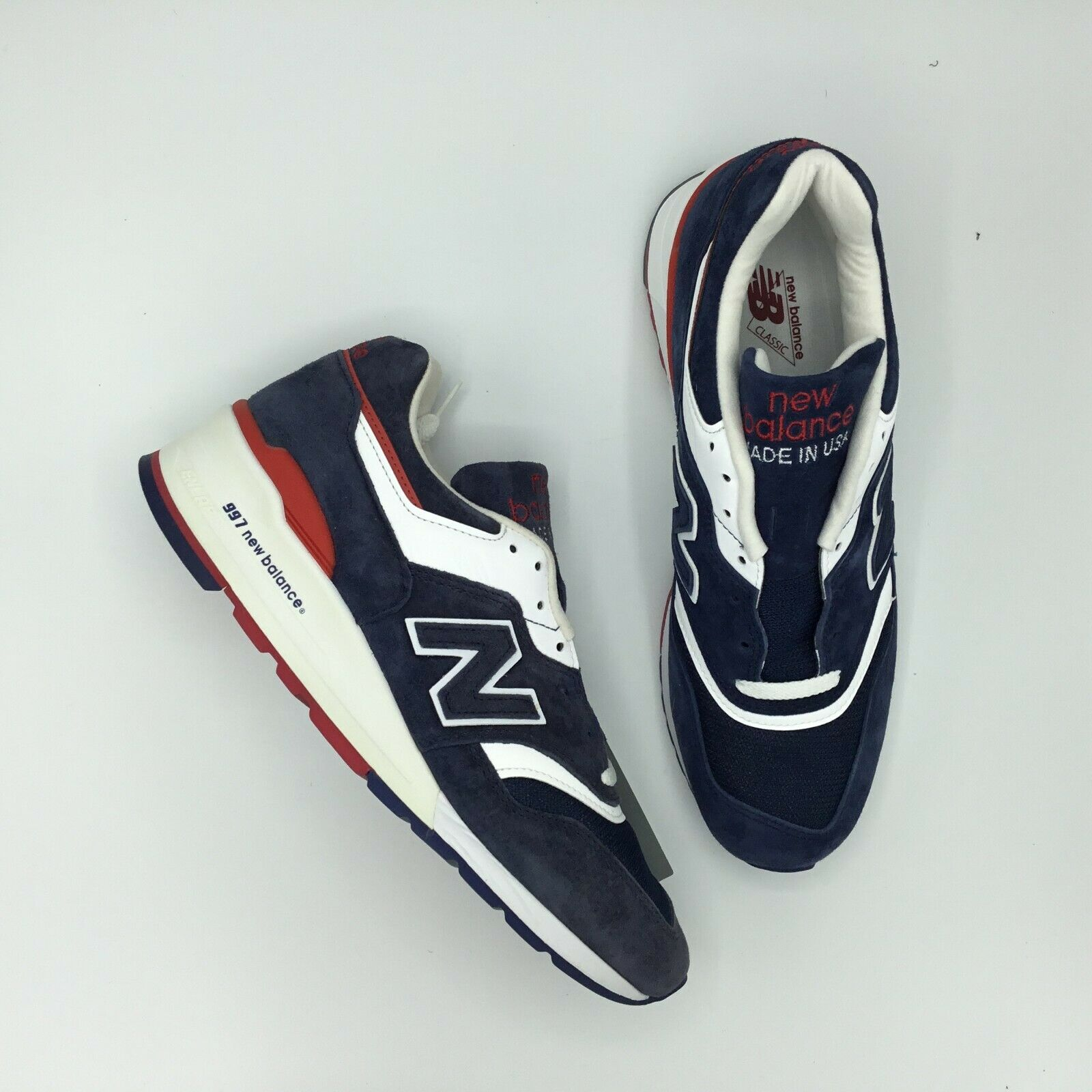 SALE NEW BALANCE 997 M997 M997CYON NAVY Explore By By By Air Dimensione 9 BRAND NEW f85094
