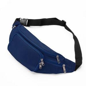 Running Bag Bum Travel Handy Hiking Sport Fanny Pack Waist Belt Zip ... 6ded87b6ccc98