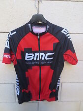 Maillot cycliste BMC SWISS CYCLING TECHNOLOGY jersey trikot shirt rouge M maglia