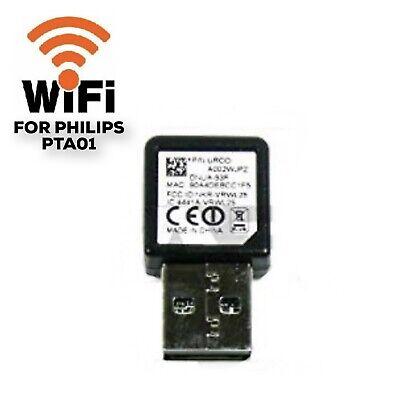 Genuine PHILIPS PTA01 Wireless LAN WiFi USB Adapter for TVs Dongle SmartTV