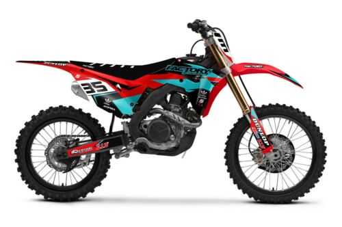 Fast Honda Graphics Factory Backing CR125250 0212