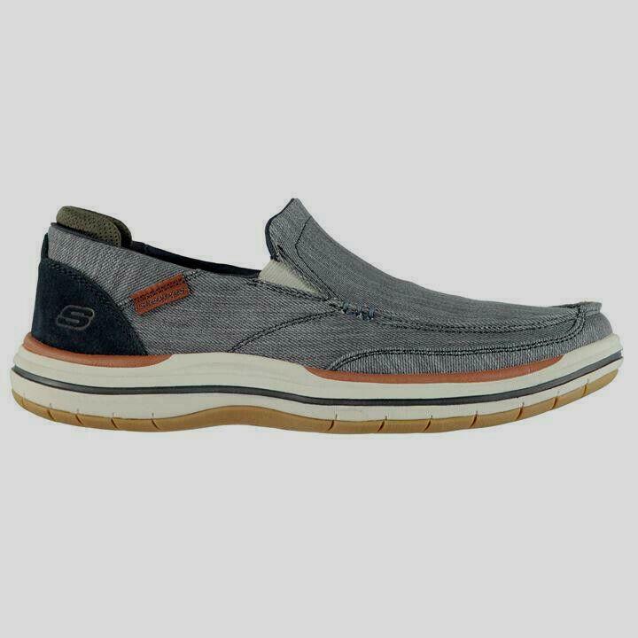 Skechers Elson Amster Mens Slip On shoes US 13 CM 31 REF 1767