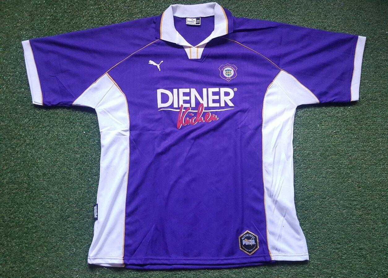 FC Erzgebirge Aue Aue Aue Trikot XXL Puma Shirt Jersey Diener Küchen ca92bb