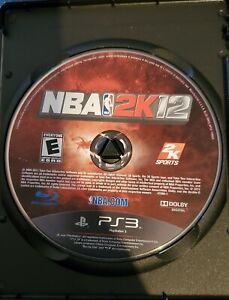 NBA 2K12 (Sony PlayStation 3, 2011) DISC ONLY