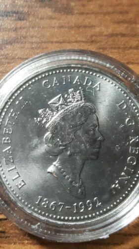UNC Details about  /1992  CANADA QUEBEC 125th ANNIVERSARY QUARTER /& ENCAPSULATED