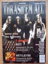 THRASH'EM ALL 2/2003 HATE,Anthrax,Ministry,Lacrimosa,Immolation,Mutilation