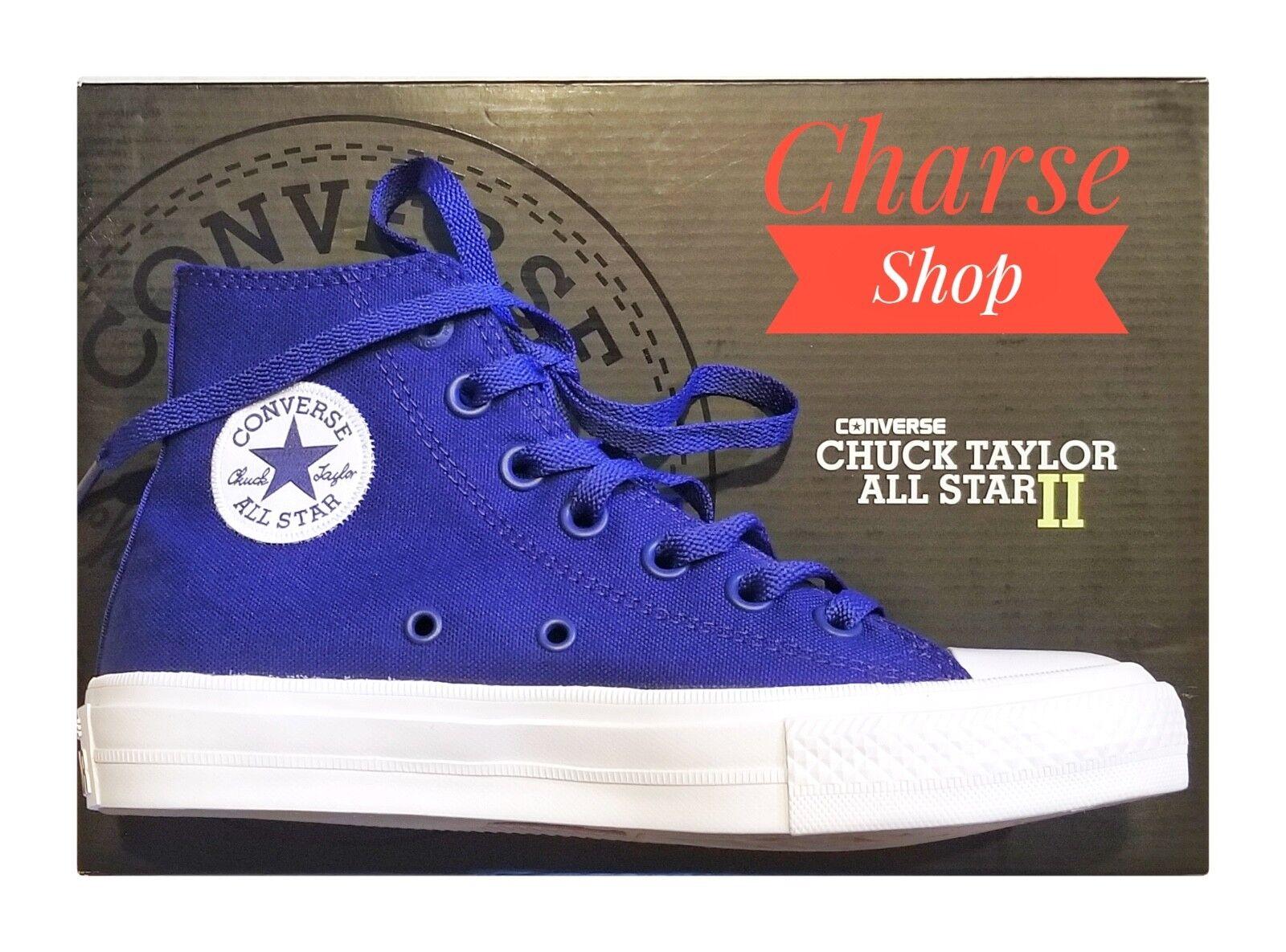 Donna Converse Chuck Chuck Chuck Taylor II 2 All Star Hi High Top  100% Authentic ffdcdc