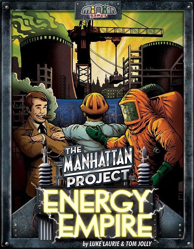 The Manhattan Project - Energía Imperio - Juego de Mesa de Estrategia