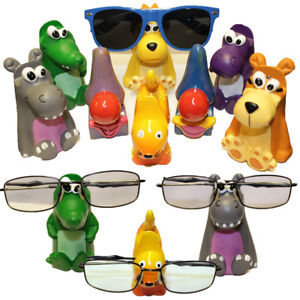 Reading-Glasses-Sunglasses-Holder-Specs-Nose-Rack-Novelty-Stand-For-all-Ages