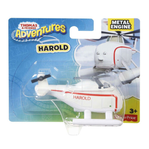 Fisher-Price Thomas /& Friends Adventures HAROLD Die-cast Metal Helicopter