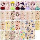 Etui Housse Coque TPU Case Cover Pattern Protector For iPhone 5 5s SE 6s 7 Plus
