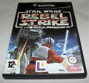 Star Wars Rebel Strike Rogue Squadron III Nintendo Gamecube PAL *Complete*