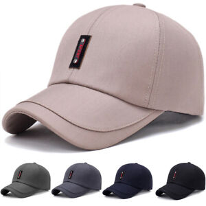 Herren-Unisex-Basecap-Trucker-Baseball-Cap-Muetze-Snapback-Verstellbar-Kappe-Hute