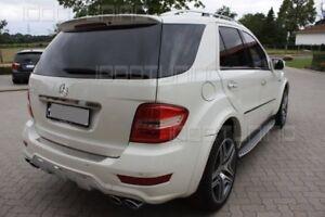 Mercedes ML M-Klasse W164 Kotflügelverbreiterungen Spoiler Neu AMG 8 Teilig