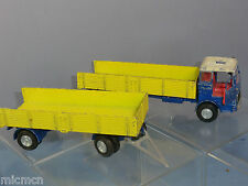 DINKY TOYS MODEL No.917  MERCEDES TRUCK & TRAILER  ( FOR RENOVATION )