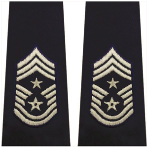 LARGE Vanguard AIR FORCE EPAULET ENLISTED COMMAND CHIEF MASTER SERGEANT