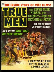 True-Men-Pulp-Magazine-Vol-11-11-June-1969-Bondage-Very-Fine-8-0