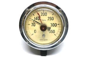 Vintage-MOTOMETER-Motoco-Thermometer-wohl-fuer-Dampflok