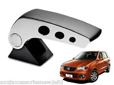 Kozdiko Black Chrome Round Armrest For Maruti Suzuki Alto K10