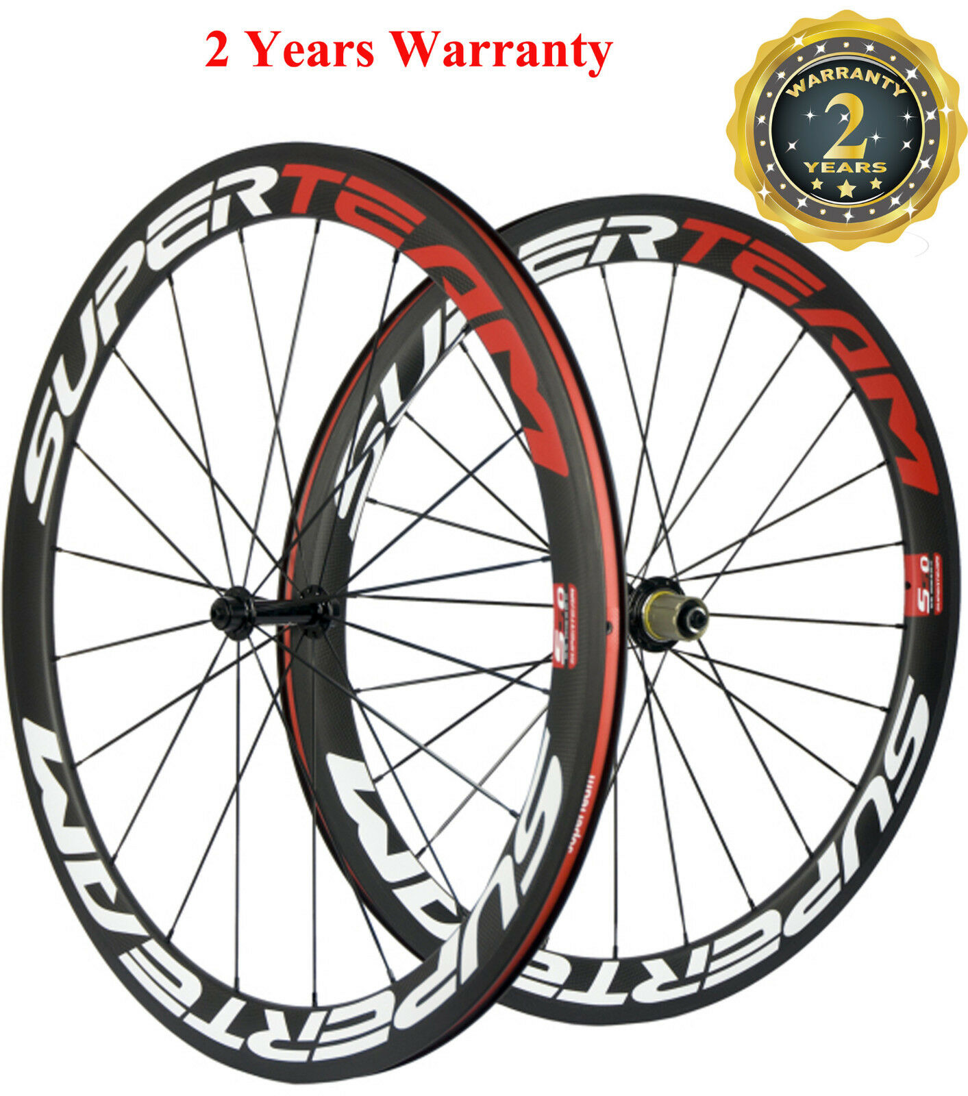 50mm Clincher Wheels Carbon Bicycle 700C Wheels 3k Matte Shimano T700 Wheelset