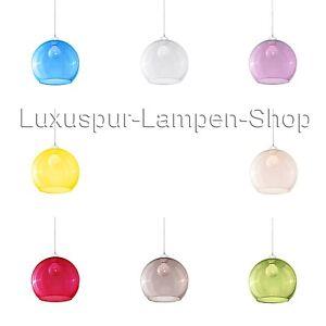 pendelleuchte leuchte lampe glas stahl h ngelampe wohnzimmer kugel bilbao modern ebay. Black Bedroom Furniture Sets. Home Design Ideas