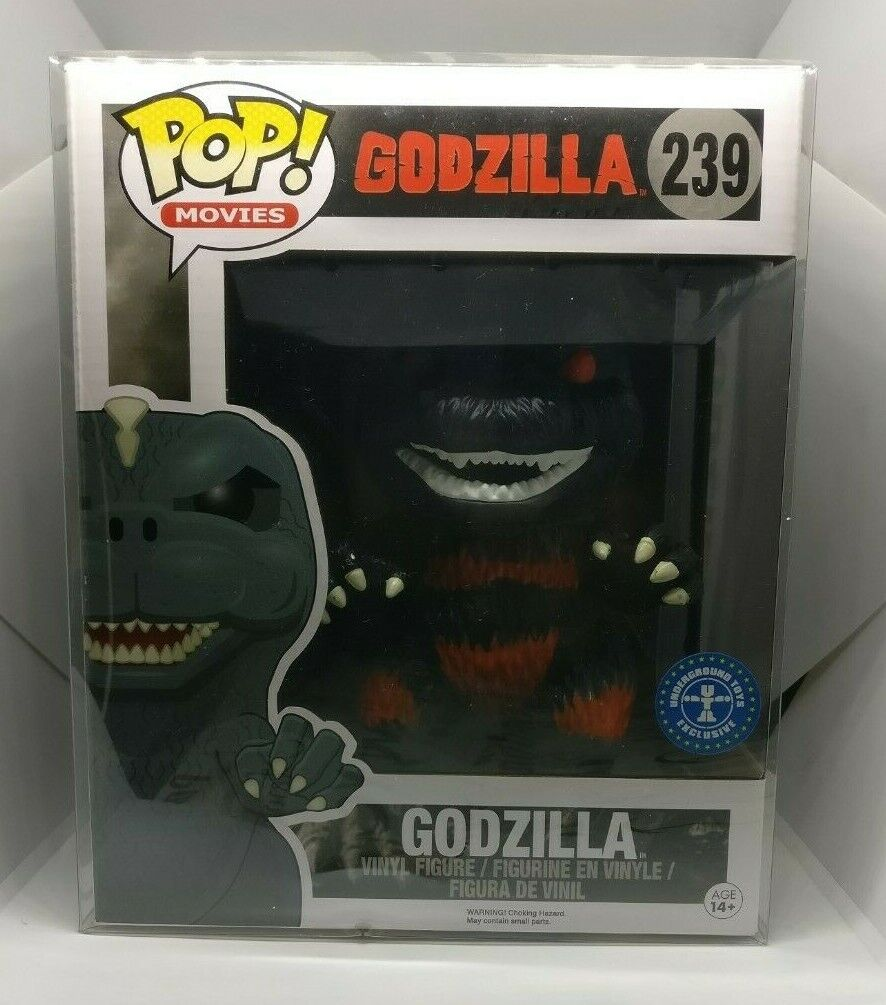 Funko POP  239 Godzilla Burn 2015 + soft projoector