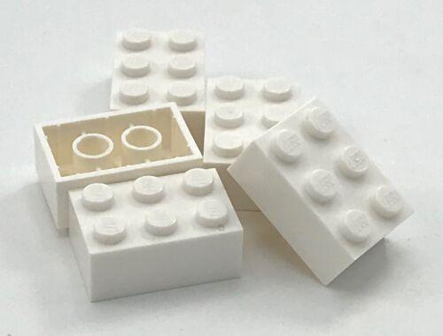 Lego 5 New Bricks 2 x 3 Dot Brick Building Blocks Pieces