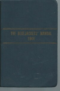 NM-015 - 1944 Bluejackets' Manual, Thomas Laguardia, JR Kingsport TN WWII
