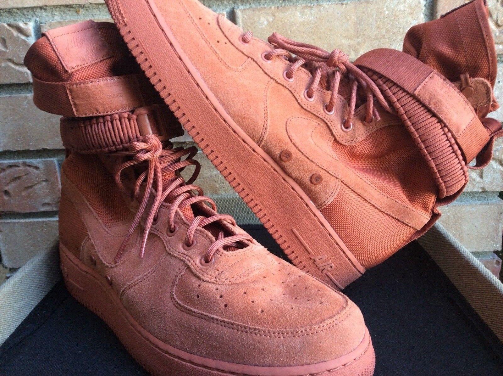 Nike air 884024-204 force 1 volume 13 sf dusty peach 884024-204 air 387baf
