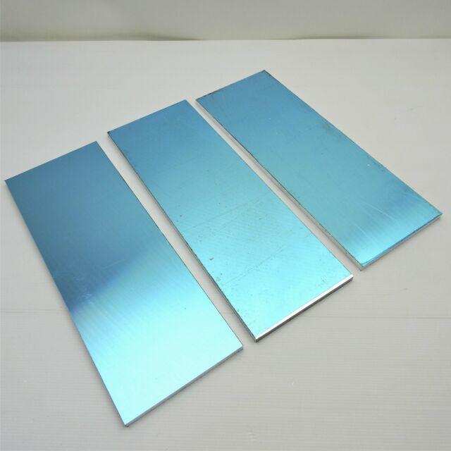 ".375/"" thick Precision CAST Aluminum PLATE 2.875/"" x 10.5/"" Long QTY 4  sku 174867"