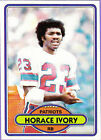 1980 Topps Horace Ivory #208 Football Card