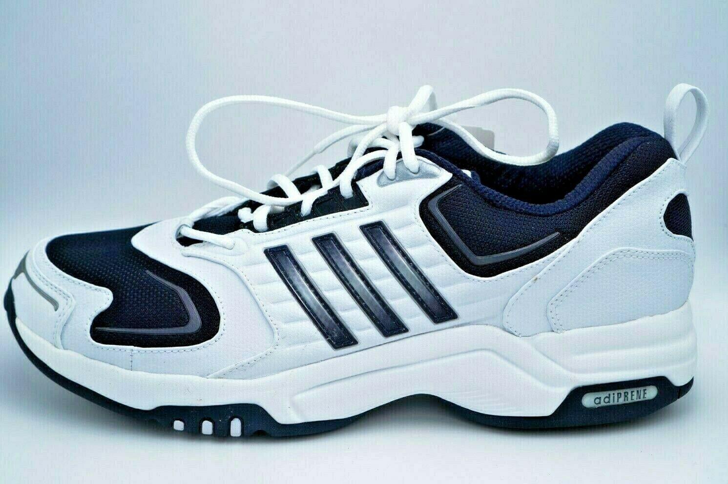 ad5037b897849 Rare Adidas Adiprene Fast Track LE Navy   White Training Training Training  shoes 11 U.S New