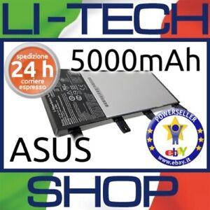 Batteria-compatibile-5000mAh-per-ASUS-F555D-7-2V-7-4V-4-CELLE-NERO-COMPUTER-35Wh