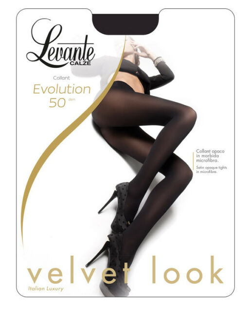 Evolution 50 Calze 50 DEN Cuciture comode-punta nuda Levante Collant Donna